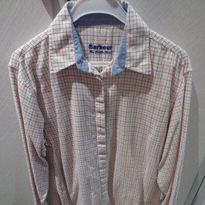 Barbour brushed cotton ladies blouse / shirt 12